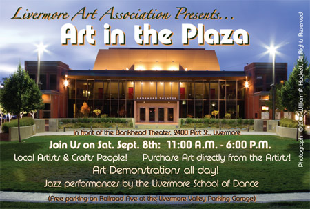 Art in the Plaza Postcard