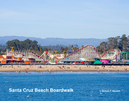 Santa Cruz Beach Boardwalk, Santa Cruz California