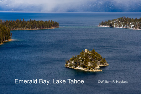 Fanette Island, Emerald Bay, Lake Tahoe