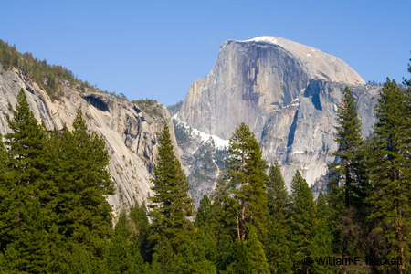 Half Dome, Yosemite, April