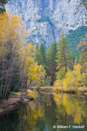Merced River, Autumn Yosemite National Park