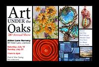 Art Under the Oaks 2014