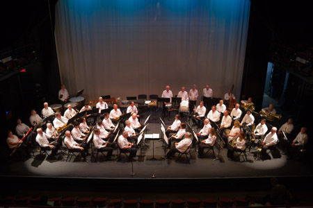 Pleasanton Community Concert Band at the Firehouse Arts Center, Pleasanton, California