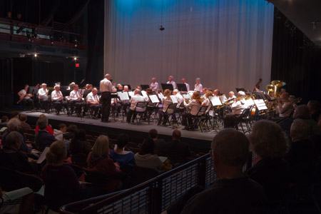 Pleasanton Community Concert Band, Firehouse Arts Center, Pleasanton, California