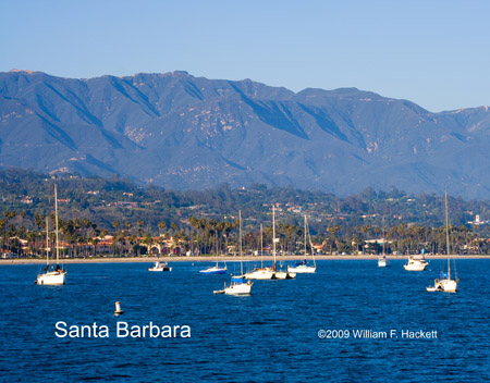 Santa Barbara Sailboats, Santa Barbara, California