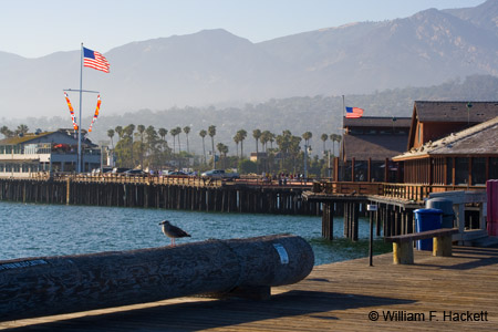 Stearns Wharf, Santa Barbara, California