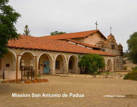 Mission San Antonio de Padua, California