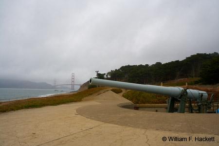Battery Chamberlain, Golden Gate