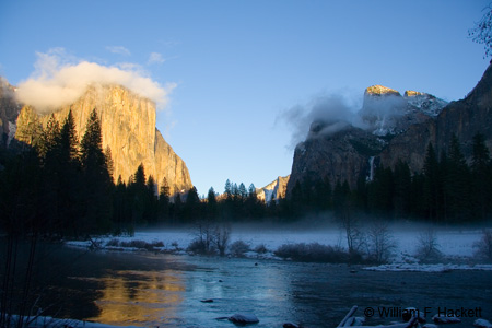 Bridalveil Meadow, January