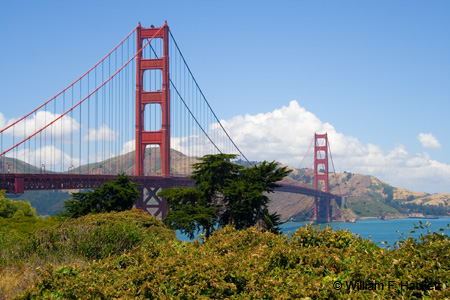 The Golden Gate Bridge, San Francisco, California