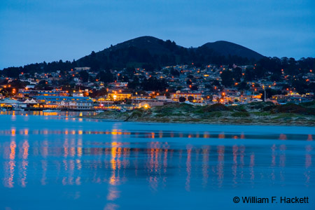 Morro Bay after Dark