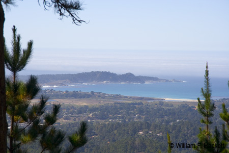 Point Lobos from Jacks Peak