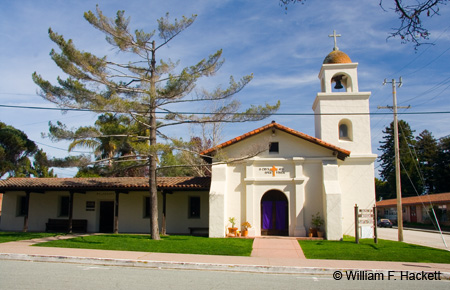Mission Santa Cruz replica