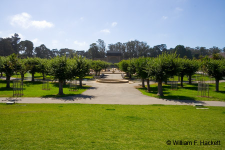 The Music Concourse in Golden Gate Park