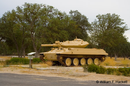 Sheridan Tank at Fort Hunter Liggett