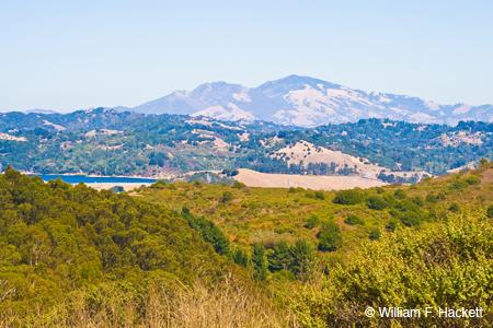 Wildcat Peak view toward Mount Diablo