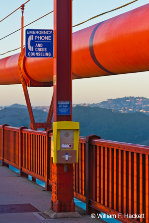 Emergency Phone, Golden Gate Bridge