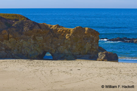 Natural Bridge, Pescadero State Beach, CA